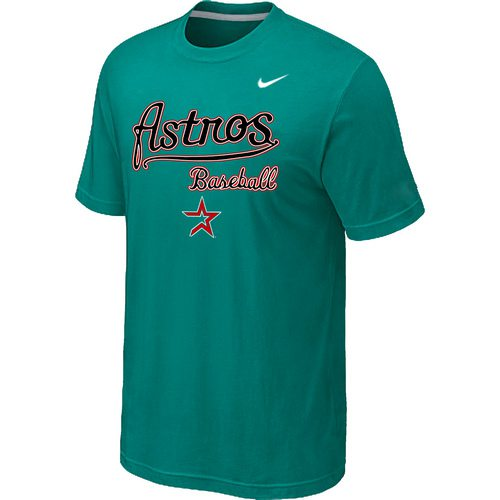 Nike MLB Houston Astros 2014 Home Practice T-Shirt - Green