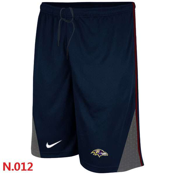 ID105233 Nike NFL Baltimore Ravens Classic Shorts Dark blue