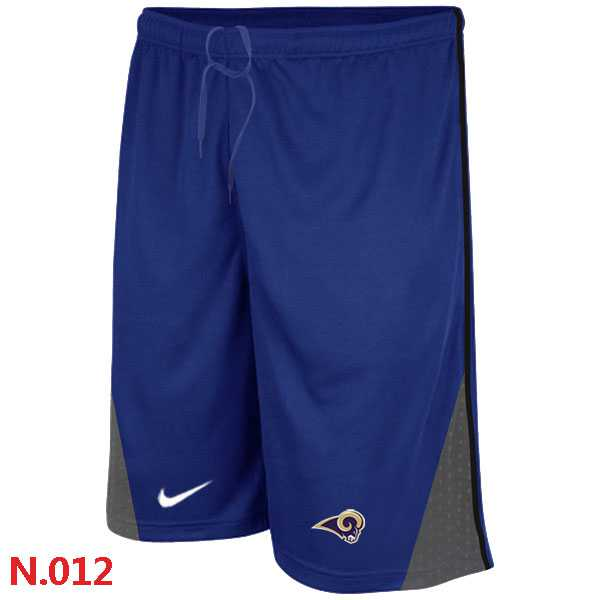 Nike NFL St.Louis Rams Classic Shorts Blue