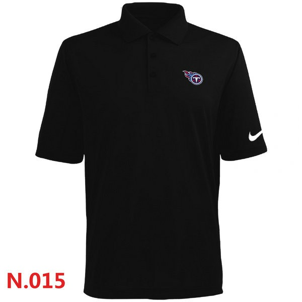 Nike Tennessee Titans Players Performance Polo -Black