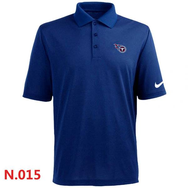 Nike Tennessee Titans Players Performance Polo -Blue