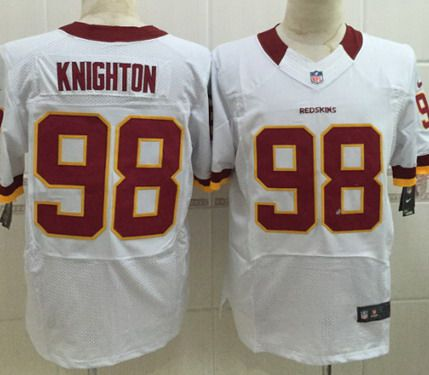 Cheap NFL Jerseys Online - Men's Washington Redskins #86 Jordan Reed White Road NFL Nike ...