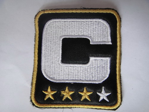 Pittsburgh Steelers Captain Black C Patch