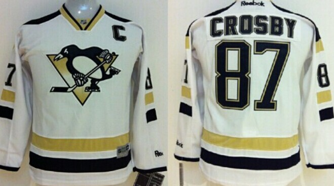824d7a15c pittsburgh penguins 87 sidney crosby 2014 stadium series white kids jersey