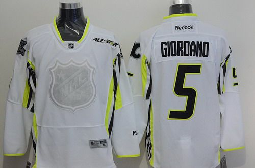 Team Toews Calgary Flames #5 Mark Giordano 2015 All-Star White Jersey