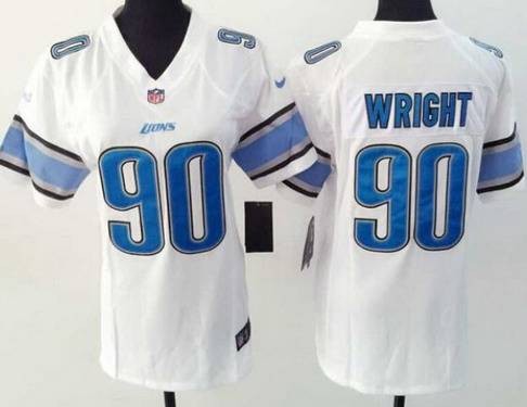 WOMEN Detroit Lions Gabe Wright Jerseys