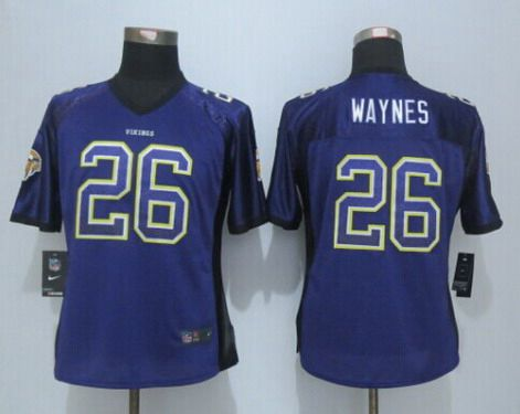 cheap Minnesota Vikings Trae Waynes Jerseys