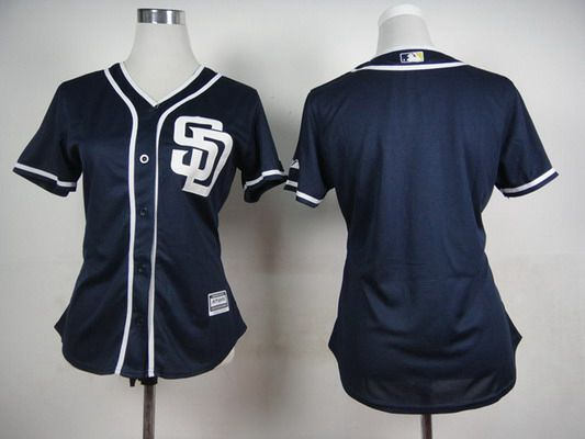 hot sale online a5579 63554 san diego padres blank white womens jersey