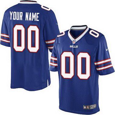 Kids' Nike Buffalo Bills Customized 2013 White Game Jersey