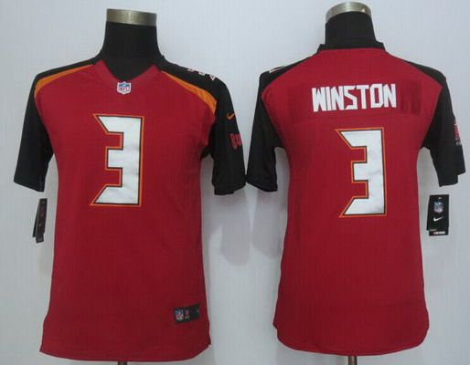 Tampa Bay Buccaneers Jameis Winston YOUTH Jerseys