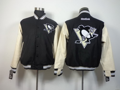 Pittsburgh Penguins Blank Black Jacket