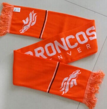 Denver Broncos Orange Scarf