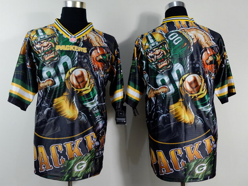 Nike Green Bay Packers Blank 2014 Fanatic Fashion Elite Jersey