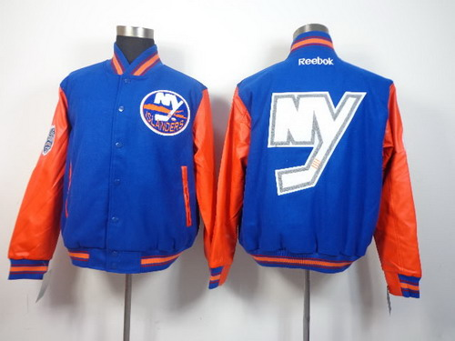 New York Islanders Blank Light Blue Jacket