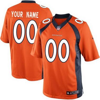 a08b3f5abfd0 ... Mens Nike Denver Broncos Customized 2013 Orange Game Jersey ...