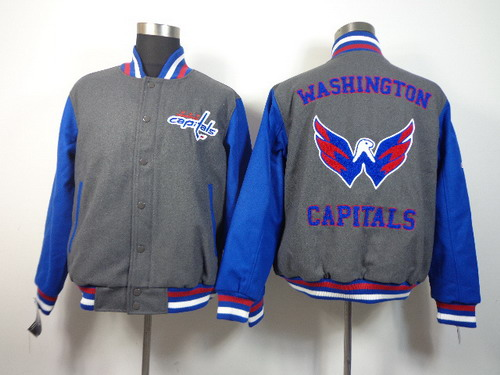 Washington Capitals Blank Gray Jacket
