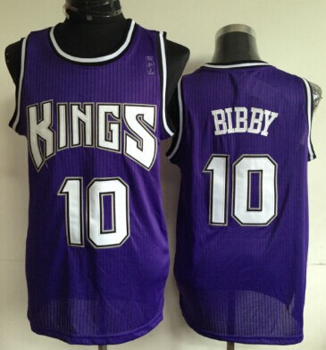 new arrival 196e3 7f7aa Sacramento Kings #10 Mike Bibby Purple Swingman Jersey on ...