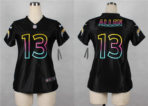 black chargers jersey