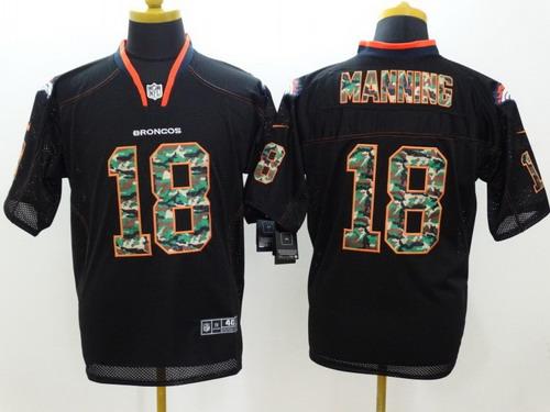 camo peyton manning jersey