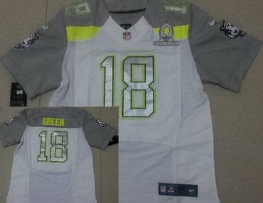 49c59fdda Nike Team Carter #13 T.Y. Hilton 2015 Pro Bowl White Elite Jersey on ...