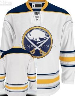 Buffalo Sabres Blank White Jersey on sale 49ebe80b1