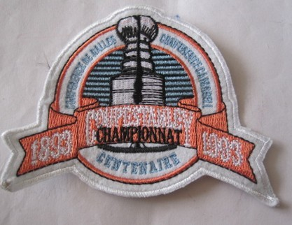 Montreal Canadiens 100th Stanley Cup Anniversary Patch