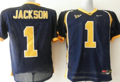 California Golden Bears #1 Jackson Blue Jersey