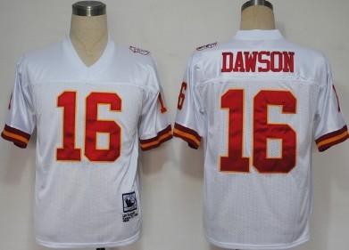 quality design c760f 61b81 Kansas City Chiefs #16 Len Dawson White Throwback Jersey on ...