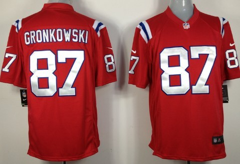 rob gronkowski jersey red