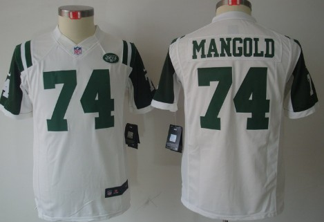 7333a400637 ... where can i buy nike new york jets 74 nick mangold white limited kids  jersey 8bfff