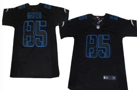 black san diego chargers jersey