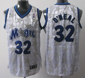 online store 60395 7b19e Orlando Magic #32 Shaquille O'neal White All-Star Jersey on ...