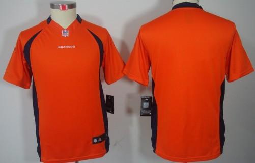 competitive price 86df0 e4a59 Nike Denver Broncos Blank Orange Limited Kids Jersey on sale ...