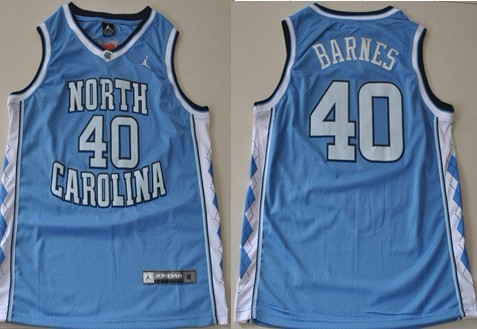 new style 3f19e fc09d North Carolina Tar Heels #40 Harrison Barnes White Swingman ...