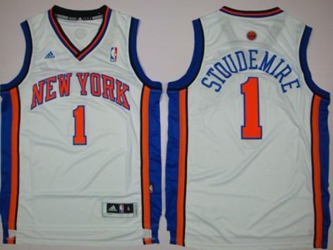 brand new 0e98f d012b New York Knicks #1 Amare Stoudemire Revolution 30 Swingman ...