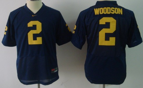 sports shoes 7631b a58f4 Michigan Wolverines #2 Charles Woodson Navy Blue Kids Jersey ...