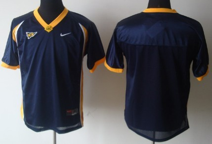 California Golden Bears Blank Navy Blue Jersey