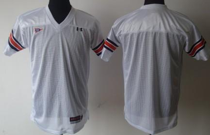 Auburn Tigers Blank White Jersey
