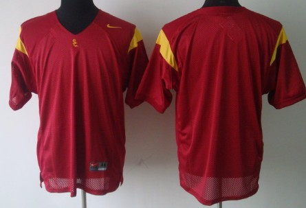 USC Trojans Blank Red Jersey