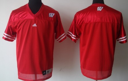 Wisconsin Badgers Blank Red Jersey