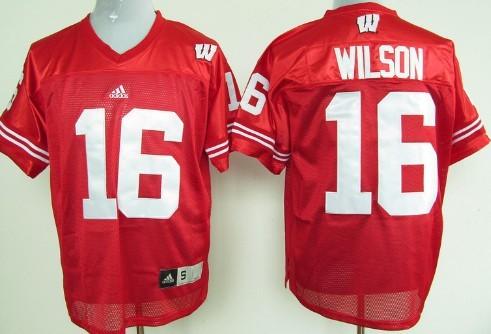 online retailer 511af 1e9c2 wisconsin badgers russell wilson jersey