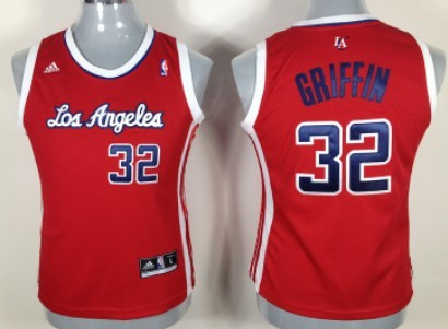 Los Angeles Clippers #32 Blake Griffin Red Womens Jersey