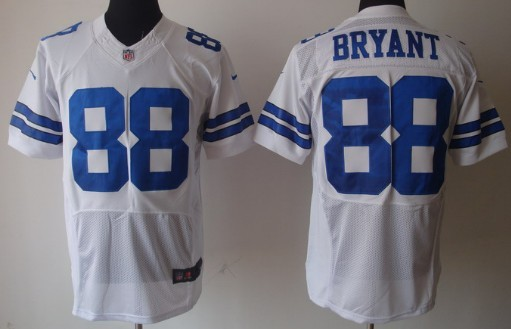 0a604df63eb Nike Dallas Cowboys #88 Dez Bryant White Elite Jersey on sale,for ...