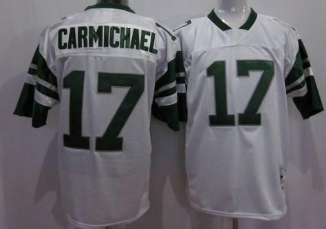 the latest 7f12d 8f6eb Philadelphia Eagles #17 Harold Carmichael White Throwback ...