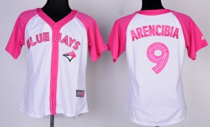 wholesale dealer f09e9 8d1f0 Toronto Blue Jays #9 J. P. Arencibia 2012 Fashion Womens by ...