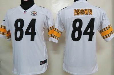 antonio brown white jersey