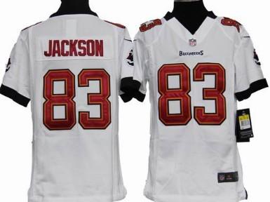 Nike Tampa Bay Buccaneers #83 Vincent Jackson White Game Kids ...