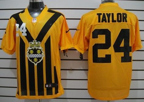 Nike Pittsburgh Steelers  75 Joe Greene 1933 Yellow Throwback Jersey ... a46c15e82