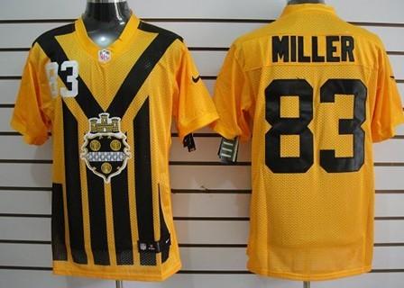 the best attitude 6fd83 3654a Nike Pittsburgh Steelers #43 Troy Polamalu 1933 Yellow ...