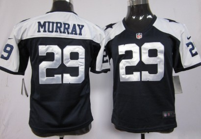 3950807c0 ... authentic nike dallas cowboys 29 demarco murray blue thanksgiving game  kids jersey d7e7e 80ae2 ...
